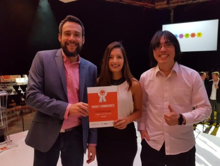 Sonnar Interactive Highly Commended in New Zealand Innovation Awards 2017
